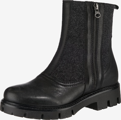 BRAKO 'riccia' Klassische Stiefeletten in schwarz, Produktansicht