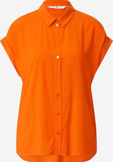TOM TAILOR Blouse in de kleur Sinaasappel: Vooraanzicht
