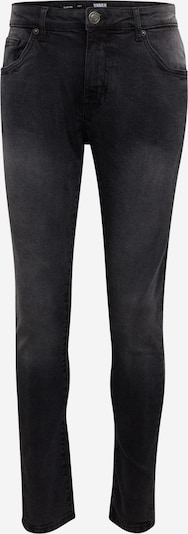 Urban Classics Jeans i svart denim, Produktvy