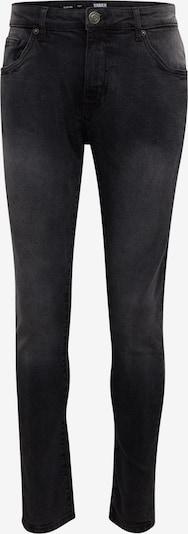 Urban Classics Kavbojke 'Slim Fit' | črn denim barva: Frontalni pogled