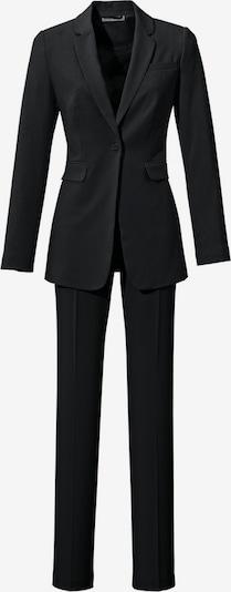 Costum cu pantaloni heine pe negru, Vizualizare produs
