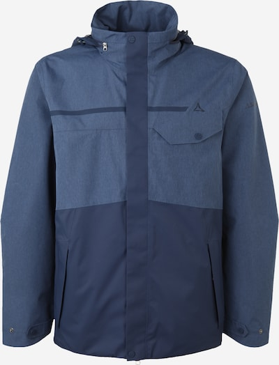 Schöffel Jacke 'San Jose' in rauchblau / dunkelblau, Produktansicht