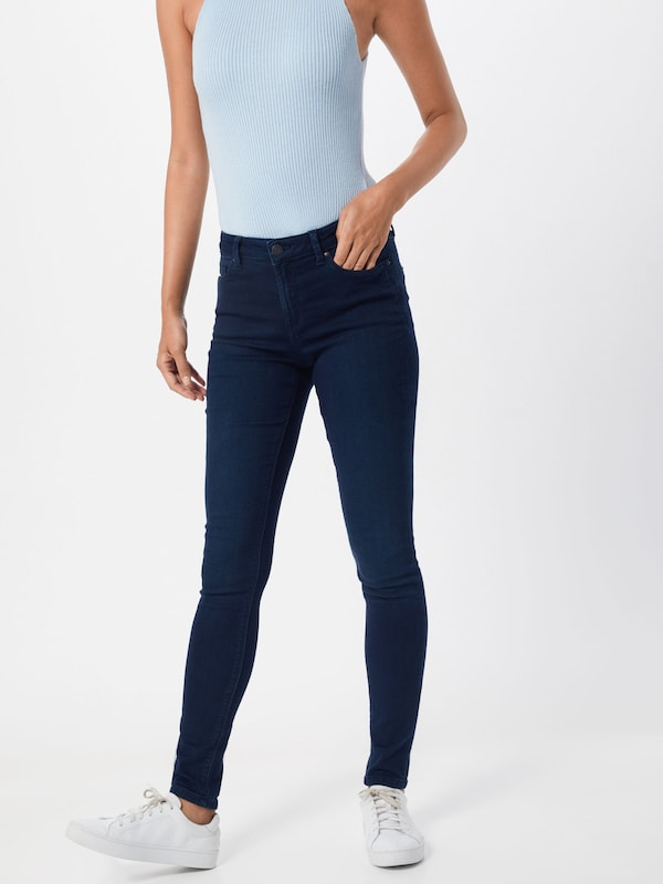 ESPRIT Jeans in blue denim: Frontalansicht