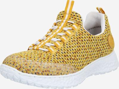 RIEKER Slip on boty - zlatě žlutá / bílá, Produkt