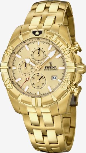 FESTINA Chronograph 'Chrono Sport, F20356/1' in gold, Produktansicht