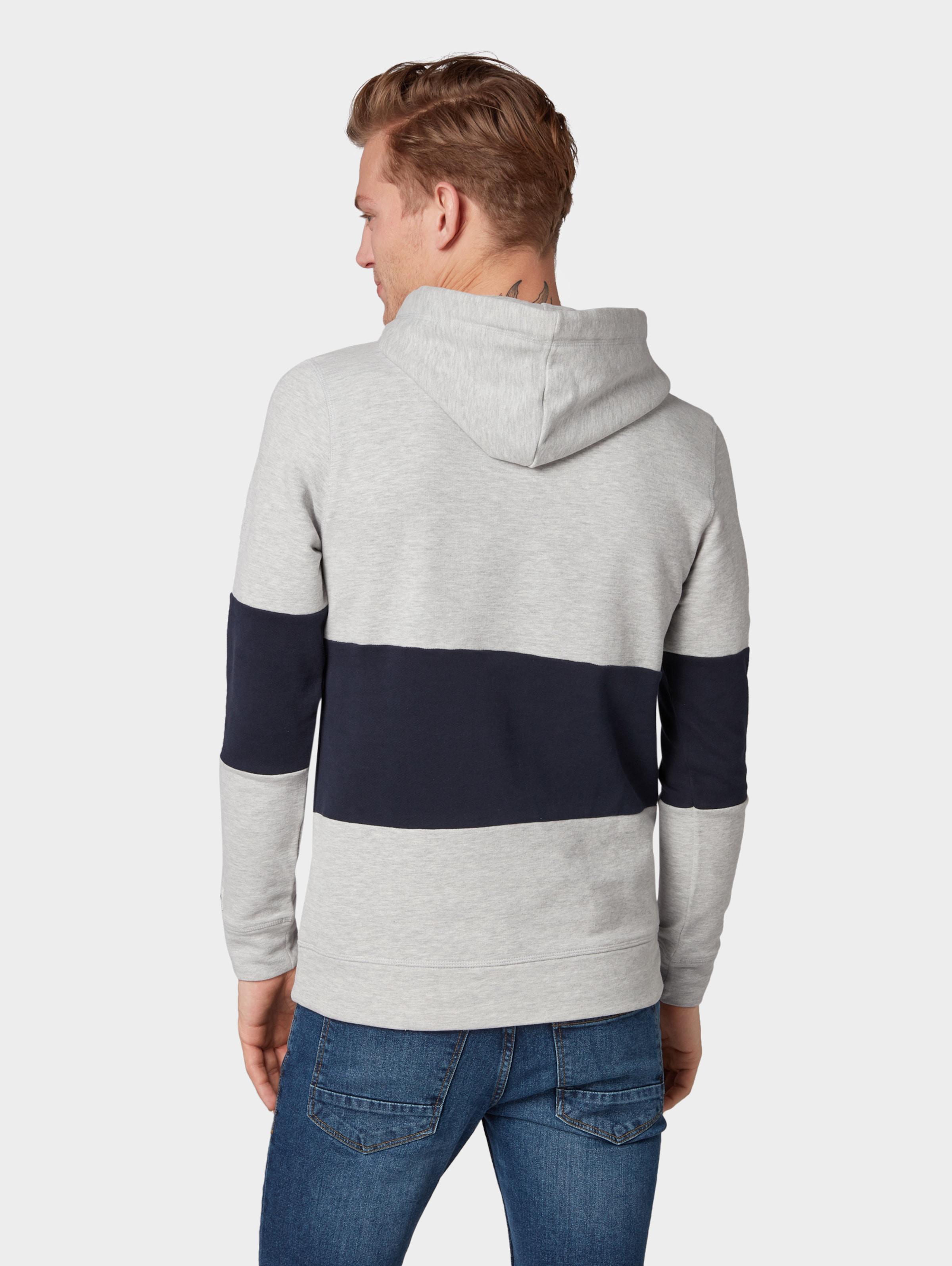 Sweatshirt In Tailor Tom Denim HellgrauSchwarz rQCxBoEeWd