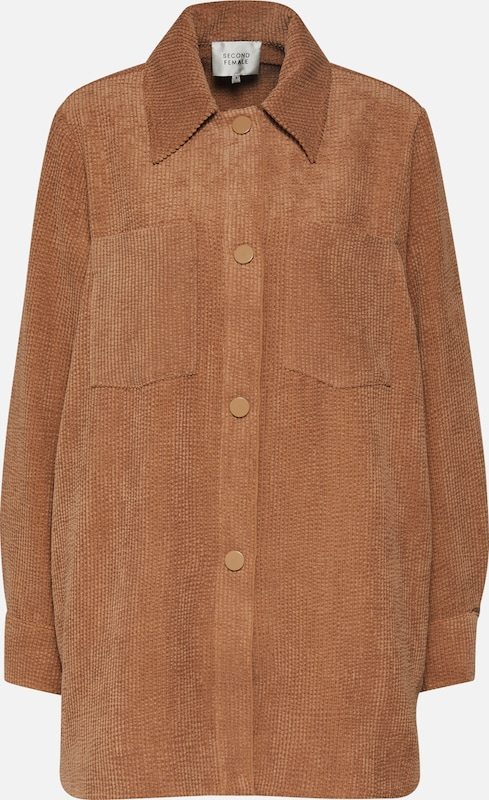 SECOND FEMALE Blazer 'Gaia Jacket' in beige, Produktansicht