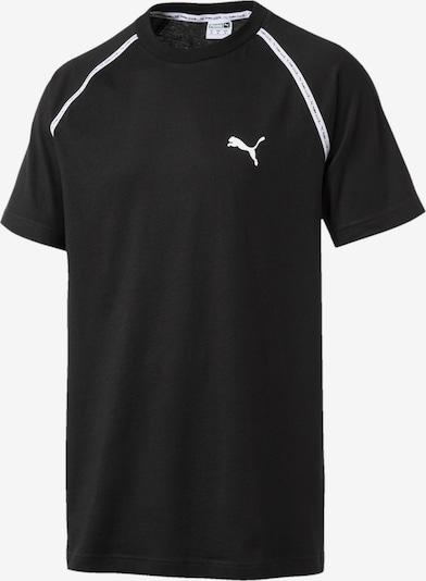 PUMA T-Shirt 'Epoch' in schwarz / weiß, Produktansicht