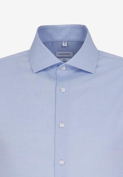 SEIDENSTICKER Hemd in hellblau: Frontalansicht