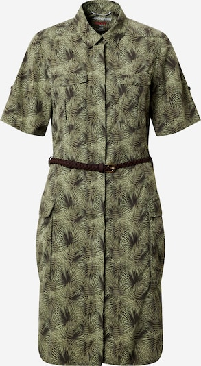 CRAGHOPPERS Robe de sport 'NosiLife Savannah' en kaki / olive, Vue avec produit