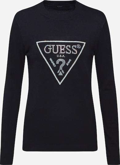 GUESS Pullover 'NAOMI' in schwarz / silber, Produktansicht