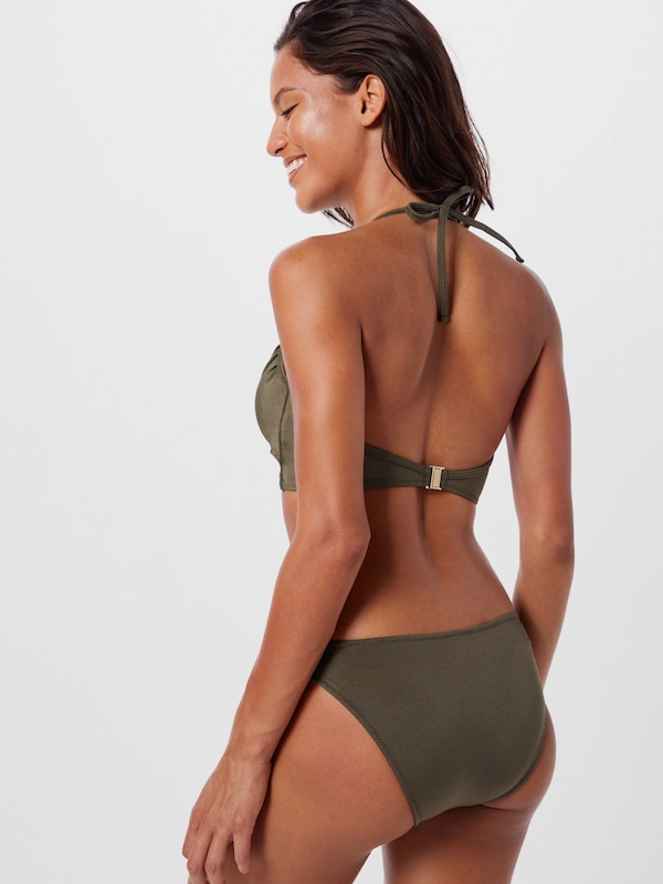 ABOUT YOU Bikini 'Lotta' in khaki: Rückansicht