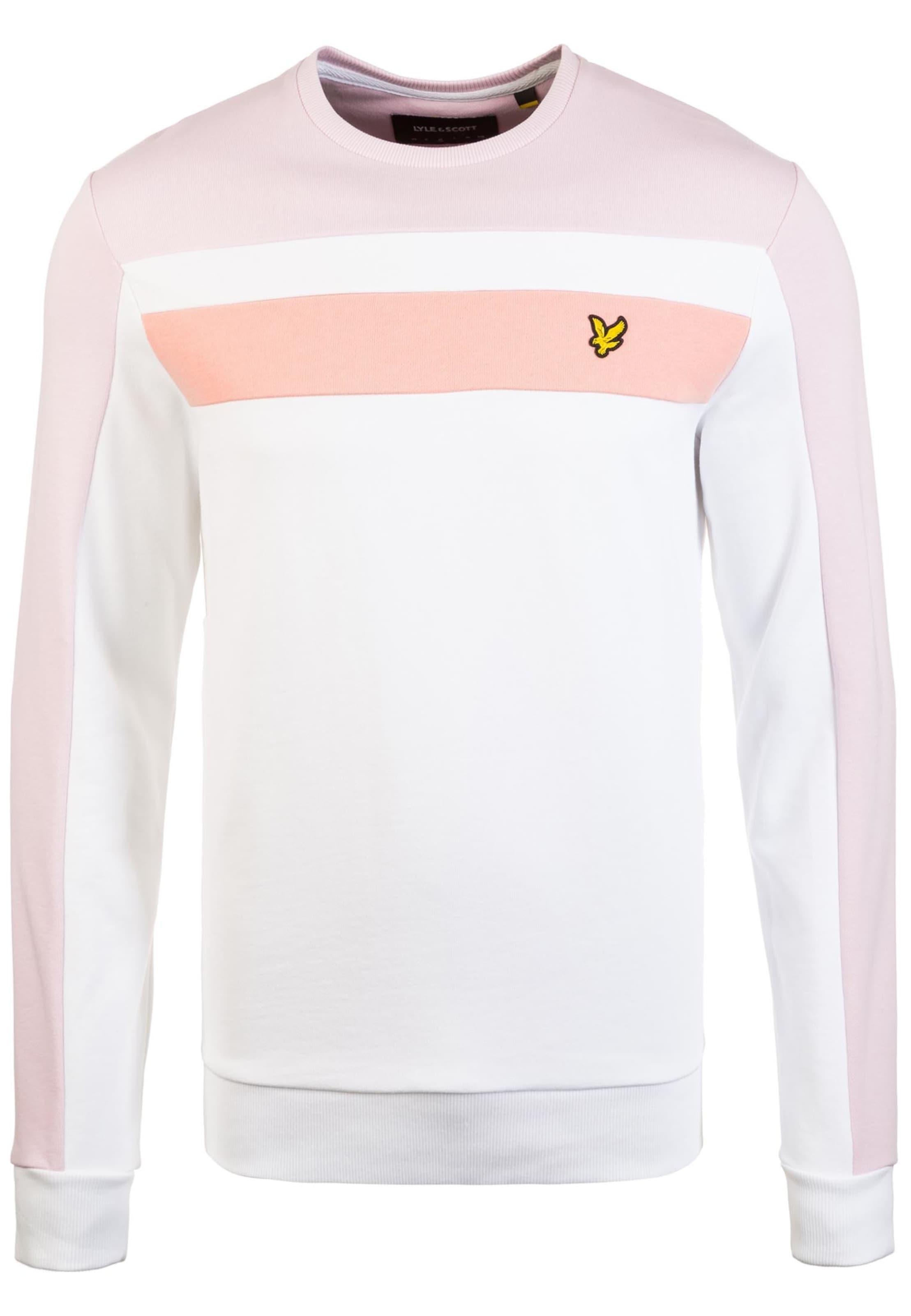 Scott shirt Blanc Sweat En AbricotPoudre Lyleamp; KcTF1Jl