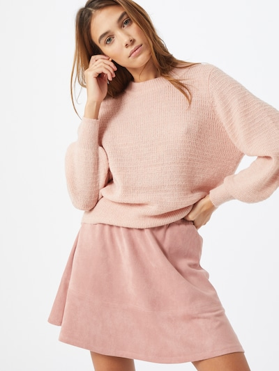 ONLY Pullover 'ONLLEA' in rosa, Modelansicht
