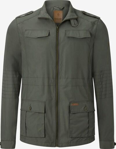 Charles Colby Fieldjacket ' Sir Barneby ' in grün, Produktansicht