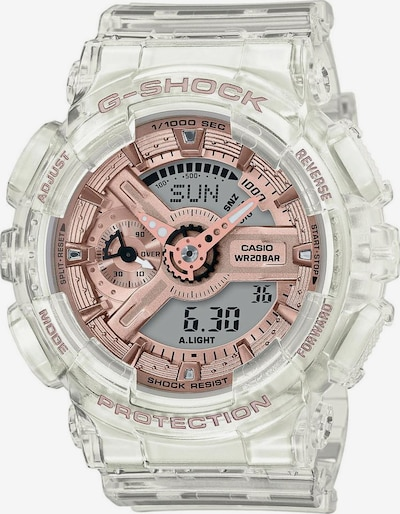 CASIO Uhr 'GMA-S110SR-7AER' in rosé / transparent, Produktansicht
