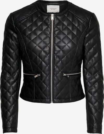 JACQUELINE de YONG Kunstlederjacke in schwarz, Produktansicht