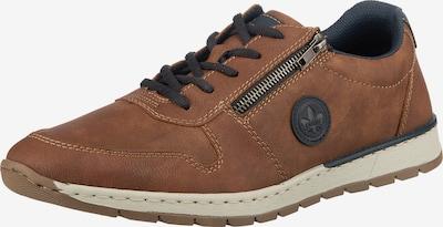 RIEKER Športové šnurovacie topánky - námornícka modrá / hrdzavohnedá, Produkt