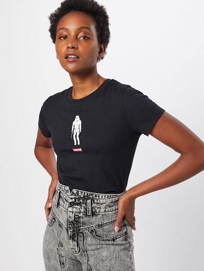 LEVI'S T-Krekls 'THE PERFECT TEE' pieejami melns: Priekšējais skats