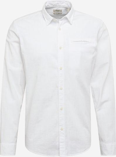 ESPRIT Koszula w kolorze nakrapiany białym: Widok z przodu
