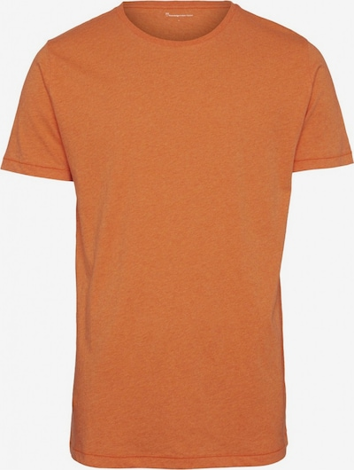 KnowledgeCotton Apparel T-Shirt ' ALDER ' in orangemeliert, Produktansicht