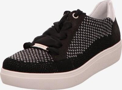 ARA Sneaker in grau / schwarz: Frontalansicht