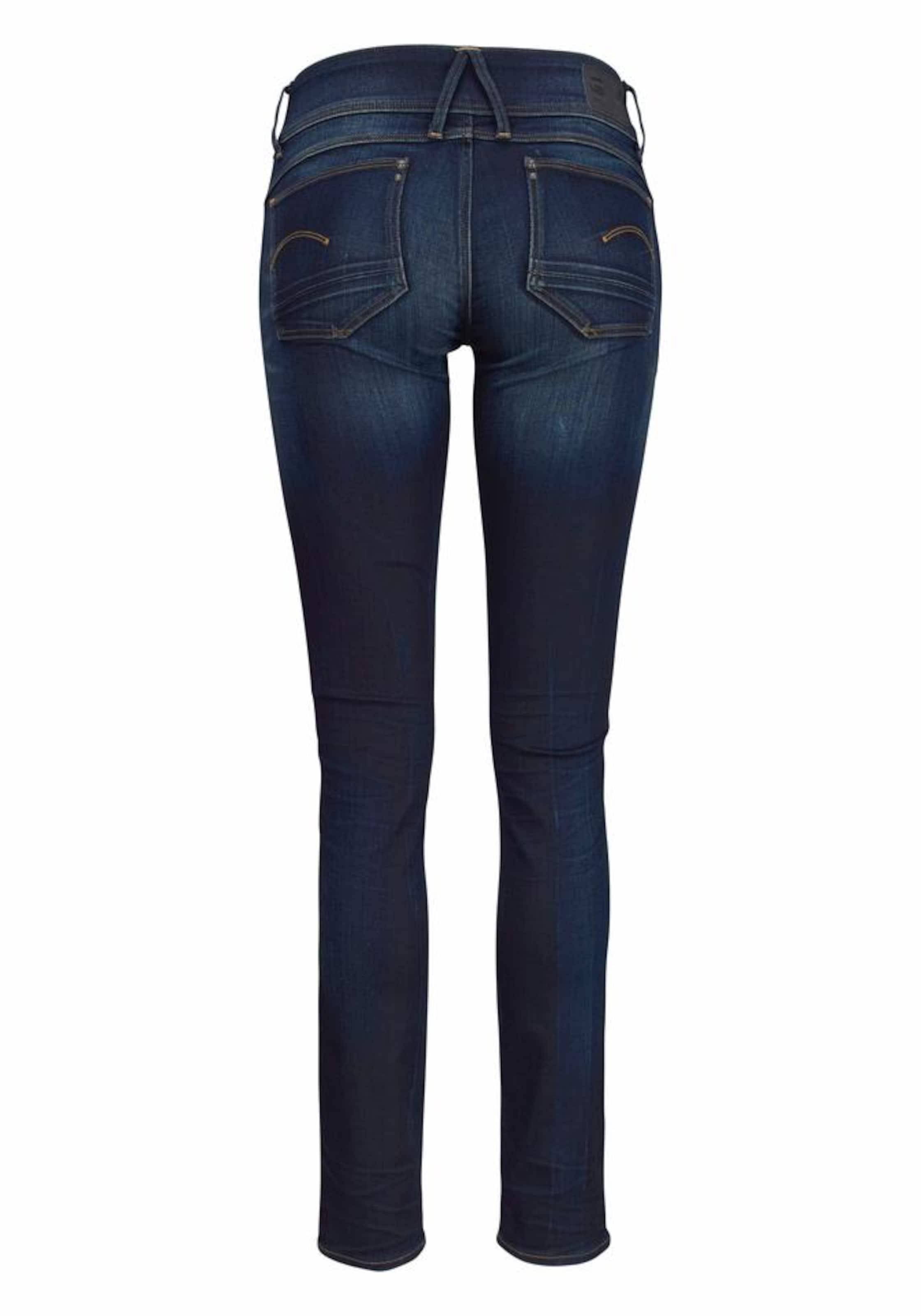 'lynn' star Jeans Raw G In Nachtblauw IbyvYf6gm7