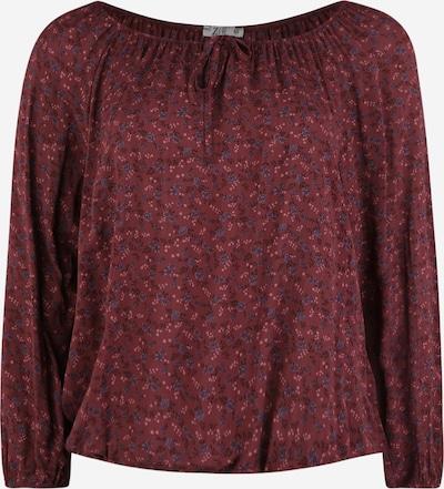 Z-One Bluse 'Steffi' in lila, Produktansicht