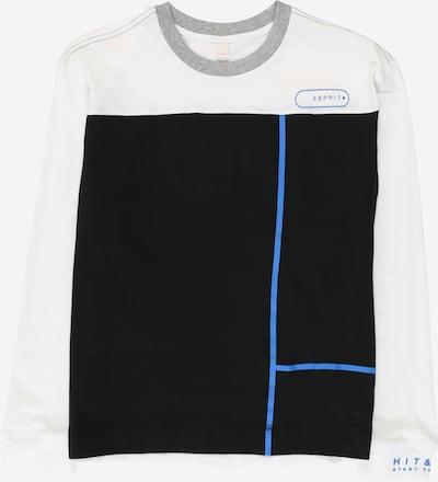 ESPRIT Shirt in de kleur Zwart / Wit, Productweergave