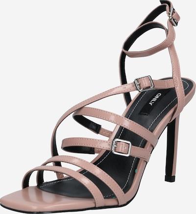 ONLY Sandalen met riem 'ALYX' in de kleur Nude, Productweergave