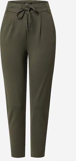 ONLY Pantalon en vert foncé, Vue avec produit