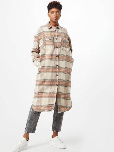 Palton de primăvară-toamnă ONLY pe bej / albastru / maro / negru, Vizualizare model