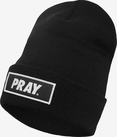 Urban Classics Mössa 'Pray' i svart / vit, Produktvy