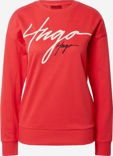 HUGO Sweat-shirt 'Nacinia' en rouge, Vue avec produit