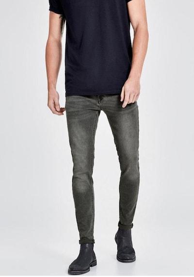 JACK & JONES Jeans 'Liam' in grey denim, Modelansicht