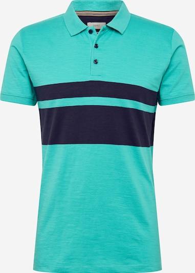 ESPRIT T-Shirt in türkis / dunkelblau, Produktansicht