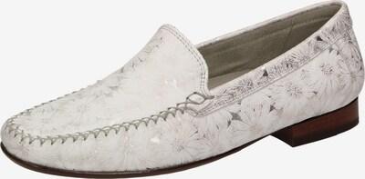 SIOUX Mokassin 'Campina' in greige / silber / weiß, Produktansicht