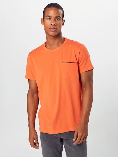 ESPRIT Koszulka w kolorze pomarańczowym: Widok z przodu