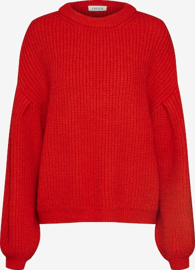 EDITED Pullover 'Beaneth' in rot: Frontalansicht