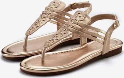 LASCANA Sandale in rosegold, Produktansicht