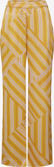 POSTYR Broek in de kleur Geel / Lichtlila / Wit, Productweergave