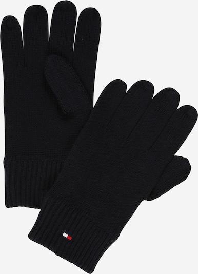 TOMMY HILFIGER Fingerhanschuhe 'Pima' in schwarz, Produktansicht