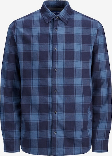 JACK & JONES Hemd in marine / royalblau, Produktansicht