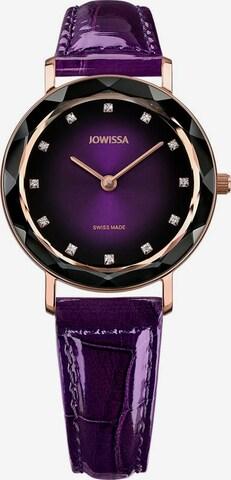 JOWISSA Quarzuhr 'Aura' Swiss Ladies Watch in Lila