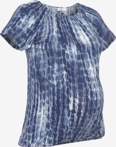 Neun Monate Umstandsshirt in blau, Produktansicht