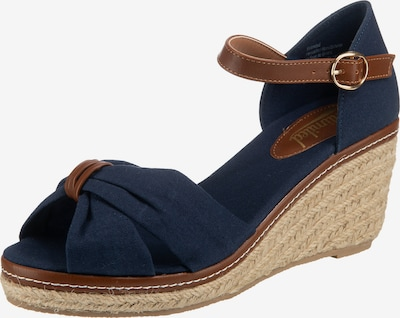 UNLIMITED Sandalette in navy, Produktansicht