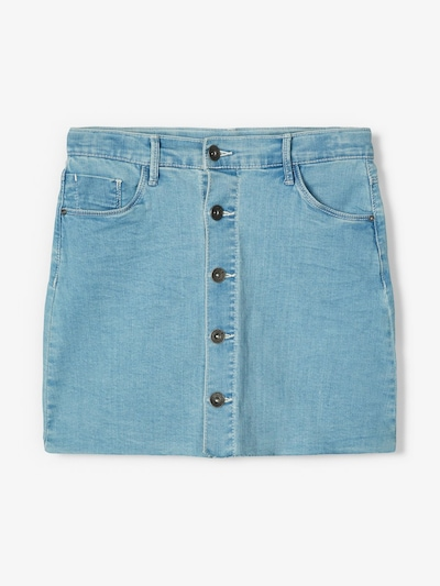 NAME IT Jeansrock in blau: Frontalansicht