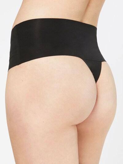SPANX Formujúce nohavičky 'Undie-Tectable' - čierna: Pohľad zozadu