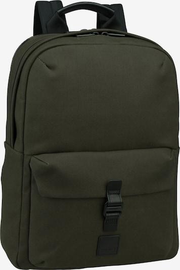 KNOMO Rucksack in dunkelgrün / schwarz, Produktansicht
