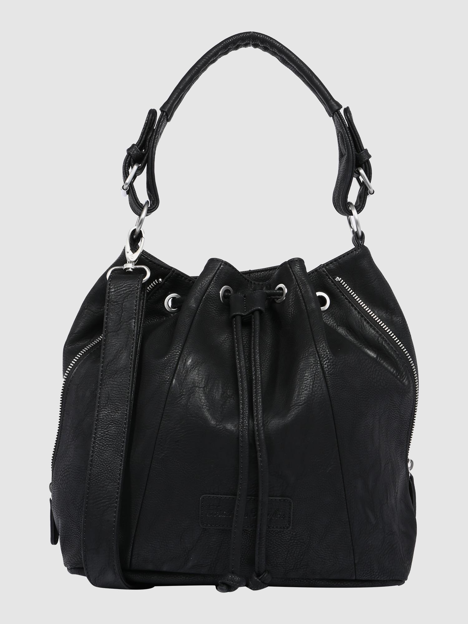 fritzi aus preu en yuna handtasche in schwarz about you. Black Bedroom Furniture Sets. Home Design Ideas